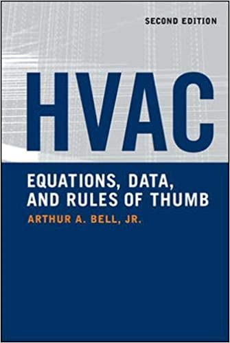 HVAC Equations Data and Rules of Thumb 2nd Edition