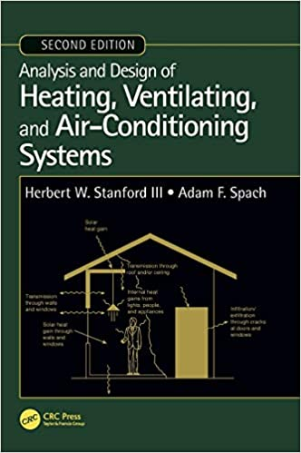 Analysis and Design of Heating, Ventilating, and Air-Conditioning Systems 2nd Edition