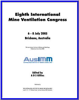 Eighth International Mine Ventilation Congress