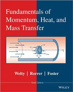 Fundamentals of Momentum Heat and Mass Transfer 6th Edition