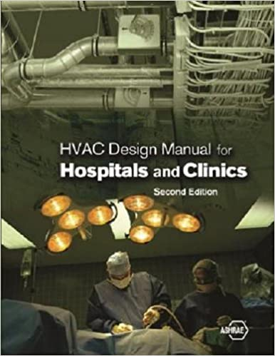 HVAC Design Manual for Hospitals and Clinics 2nd Edition