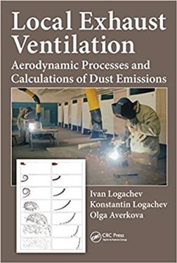 Local Exhaust Ventilation Aerodynamic Processes and Calculations of Dust Emissions