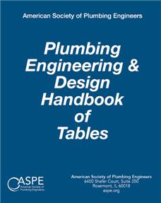 Plumbing Engineering & Design Handbook of Tables