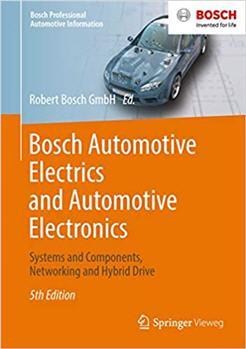 Bosch Automotive Electrics and Automotive Electronics 5th Edition