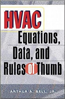HVAC Equations Data and Rules of Thumb 1st Edition
