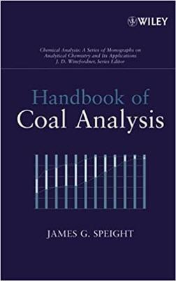 Handbook of Coal Analysis 1st Edition